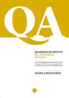 Quaderno di Appunti Contabilità di Stato e degli Enti Pubblici